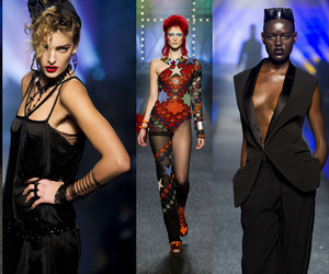 Gaultier Brings back The 80s