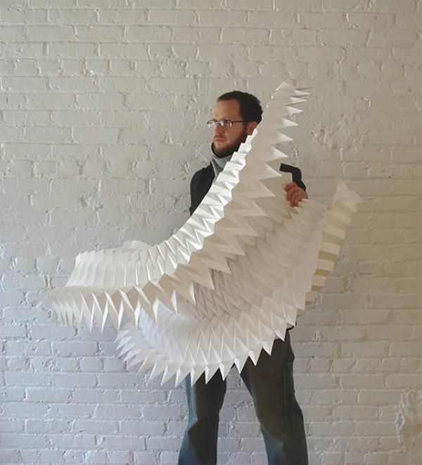 Geometric Paper Art By Matthew Shlian