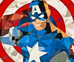 Geometric Superhero Art by Eric Dufresne