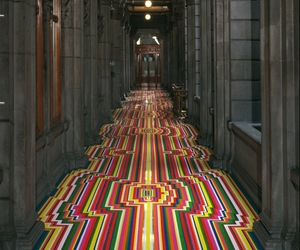 Geometric Tape Installations By Jim Lambie