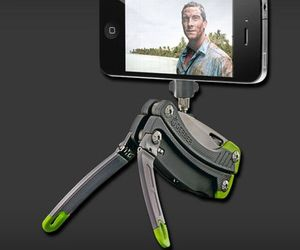 Gerber Combination Tool  Acts As Camera Stand