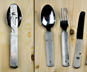German Military Surplus Utensil Set