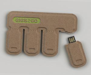 GIGS.2.GO Disposable USB Flashdrive