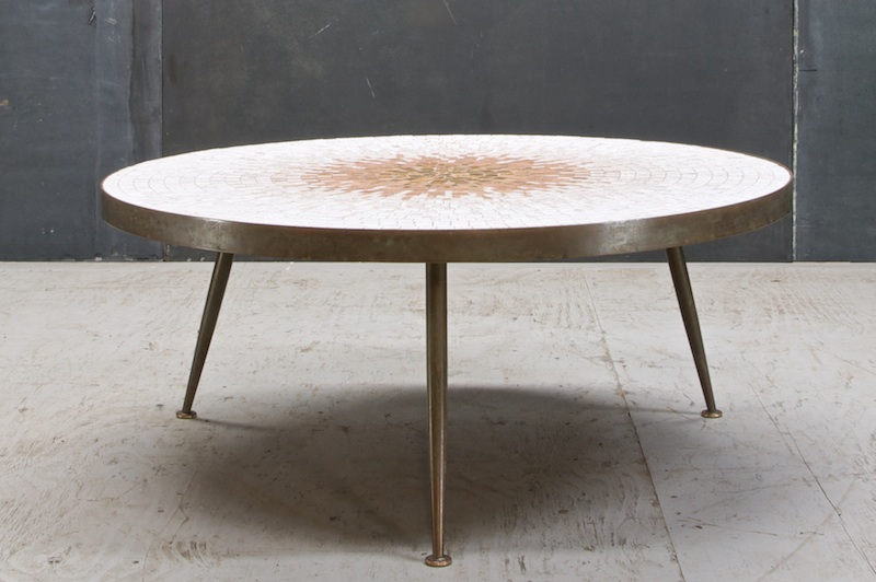 Gio Ponti Sunburst Tile Coffee Table