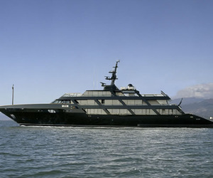 Giorgio Armani's Yacht