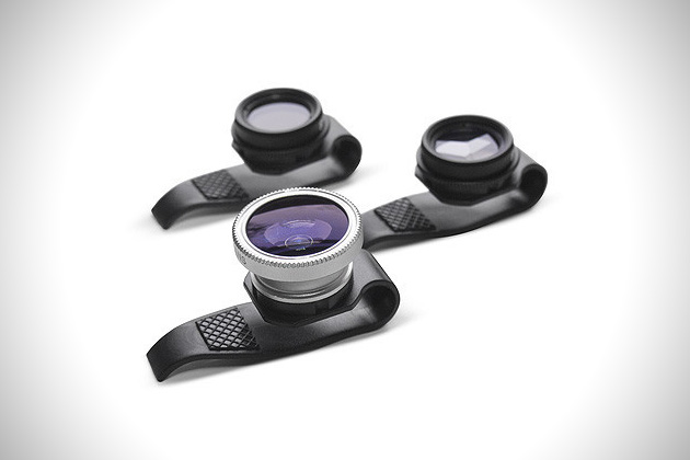 Gizmon clip on lenses for apple ipad iphone for Best lens for furniture photography