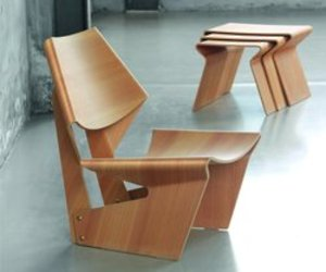 GJ Chair and Tables by Grete Jalk, 1963