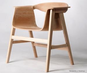 Gjerrow armchair by Benjamin Joen Kolstrup
