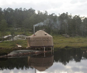 Glamping in Norway at the Canvas Hotel