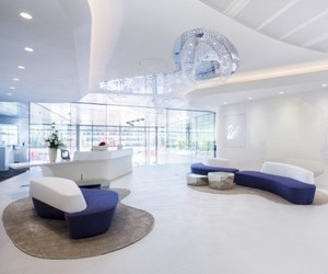 Glamorous Swarovski London HQ by M Moser Associates.