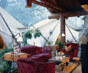 Glamping at the Clayoquot Wilderness Resort
