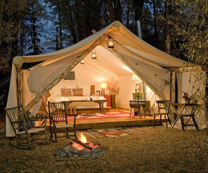 Glamping - Luxury Tents With All You need.