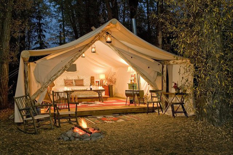 Glamping Luxury Tents With All You Need