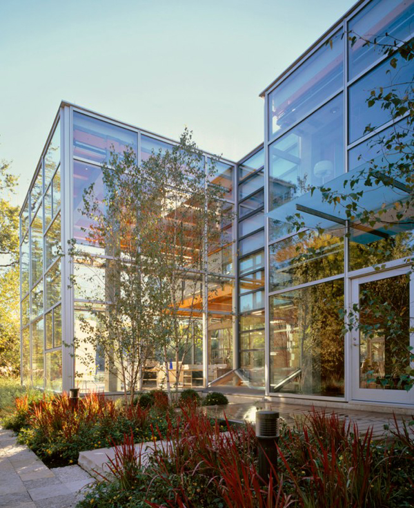 Glass House In Chicago Thomas Roszak Architecture