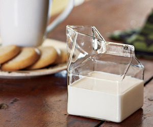 Glass Milk Carton by Fred