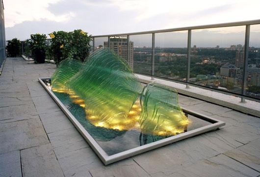 Framed Pool Landscaping