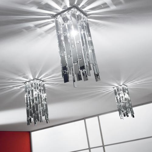 Glitter Ceiling Light