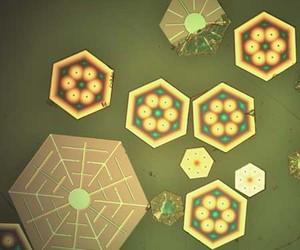 Glitter-sized Solar Photovoltaics