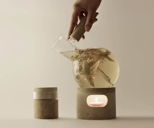 Glow Tea Set by Agustina Bottoni