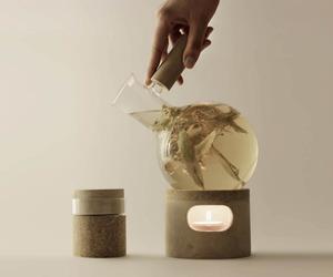 Glow Tea Set by Agustina Bottoni