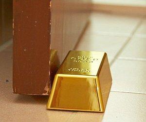 Gold Bullion Door Stop