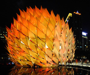 Golden Moon   Event Space by LEAD architects