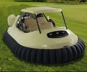 Golf Hovercraft From Hammacher Schlemmer