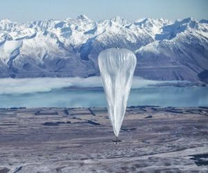 Google Launched Helium Balloons to Provide Free Internet
