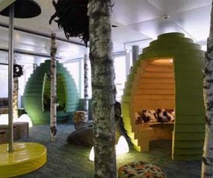 "Google Offices in Zurich Called ""Zooglers"""