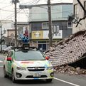 Google Street View inside Fukushima Nuclear Exclusion Zone