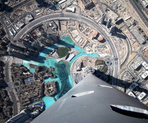 Google Street View reaches the top of the Burj Khalifa