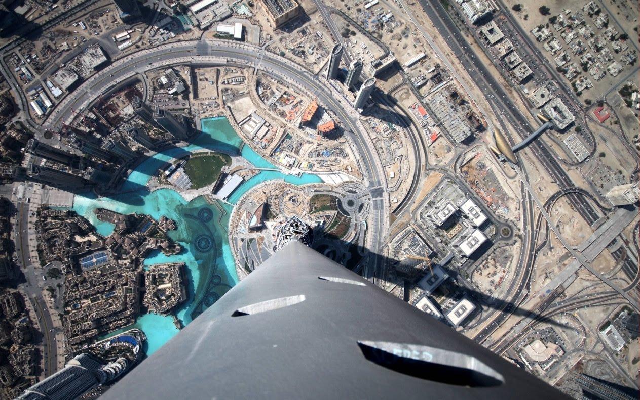 Burj Khalifa Top View Pics Top of The Burj Khalifa