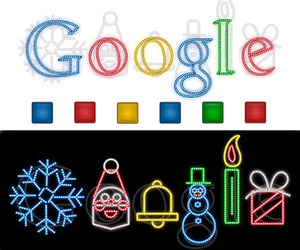 Google's Bright Idea For A Holiday Greeting.