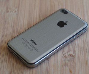 Gorgeous Beveled iPhone Metal Backing Plate