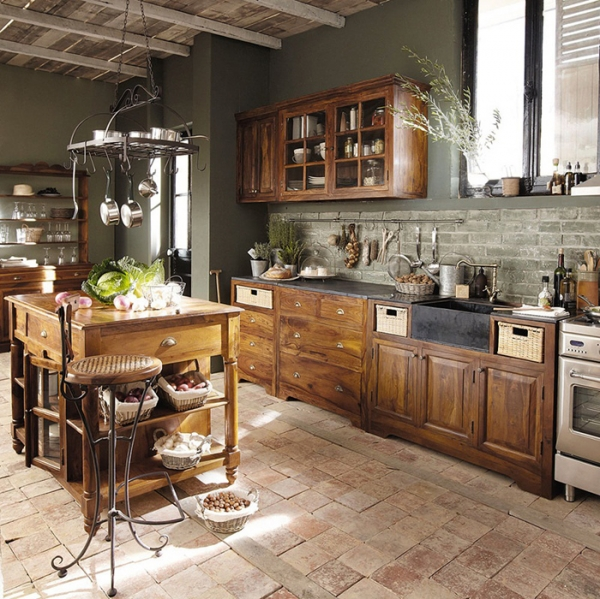 Gorgeous French Kitchens