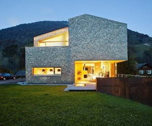 House Haller, Gorgeous Residence at the Foot of the Alps