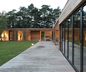 Gorgeous wooden home in the Swedish forest