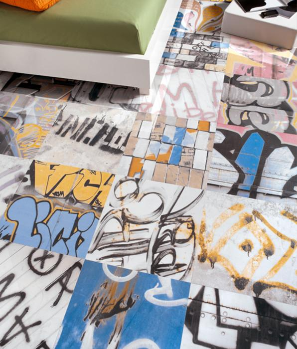 Graffitti Tiles From Peronda