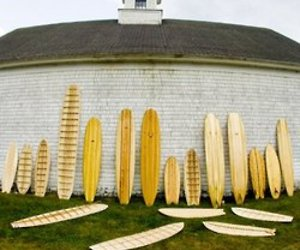Grain Surfboards: made in Maine