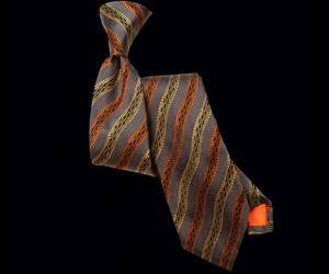 Granite Striped Tie
