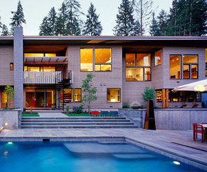 Grant Creek Residence by Heliotrope Architects
