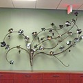 Grape Panel Wall Sculpture
