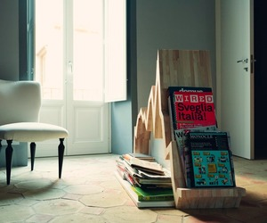 Graph Magazine Rack by Studio Inesistente