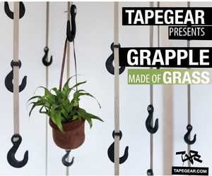Grapple - Hooks Made from Grass