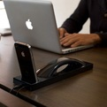 Great design for iPhone desk dock – from Moshi Moshi