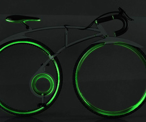 Green Bike By Allen Chester G. Zhang