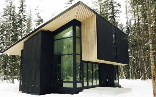 Green Construction Of Pioneer Cabin By Form Amp Forest