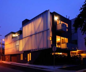 Green Design of Glass Townhouses