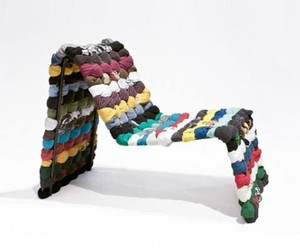 Green Furniture From Recycled Textiles