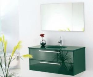 Green Glass Vanity | Topex Hardware